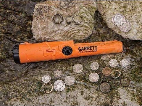 garrett pro pointer detector de metales de mano como funciona.