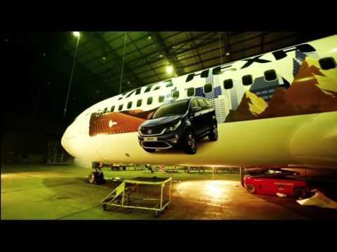 Tata Hexa hauls aircraft to demonstrate raw power under its hood