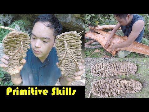 Primitive Skills: Make Sandals From Barrk