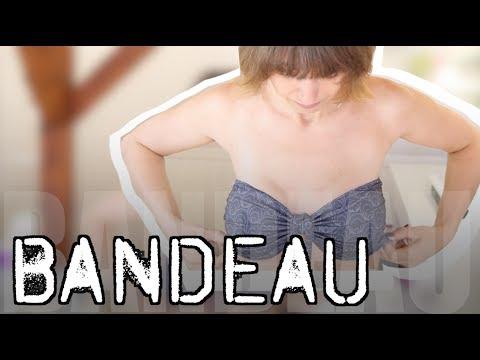 Bandeautop für Bikini nähen OHNE Schnittmuster - mit Anna von einfach nähen