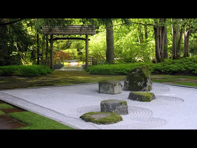 Парк в японском стиле