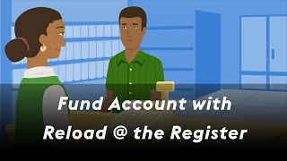 Click to view 'Fund Account with Reload @ the Register' Video