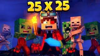 25 VS 25! КОРОЛЬ ДЕМАСТЕР ОТПРАВИЛСЯ В ДРЕВНИЙ ХРАМ ЗА МАГИЕЙ ОГНЯ! Minecraft