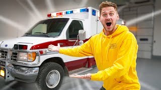 WE BOUGHT AN AMBULANCE! (New RV)
