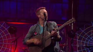 Coldplay - Mylo Xyloto/Hurts Like Heaven (Live on Letterman)