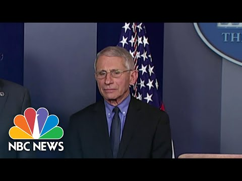 White House Officials Working To Undermine Fauci's Credibility | NBC Nightly News
