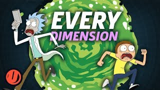 Rick and Morty - Every Dimension We Know So Far