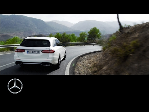 Mercedesbenz E Class Wagon Универсал класса E - рекламное видео 3