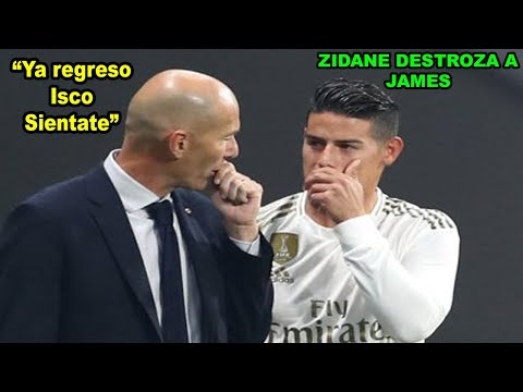 Zidane DESCARTA a James Rodriguez para la CHAMPIONS | Real Madrid vs Brujas