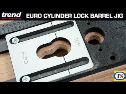 Trend Euro Cylinder Lock Barrel Jig