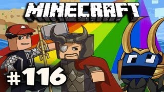 Minecraft: Asgard Adventures w/Nova Dan & Kootra Ep.116 - CASTED OUT