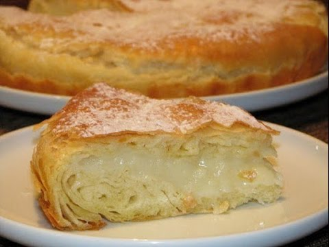Сладкий слоеный пирог Фытыр по-египетски