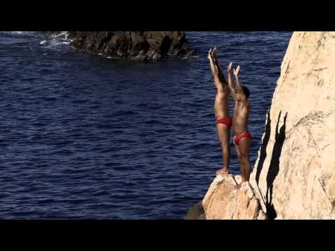 Acapulco Cliff Divers. MEXICO