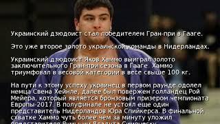 Украинский дзюдоист стал победителем Гран-при в Гааге