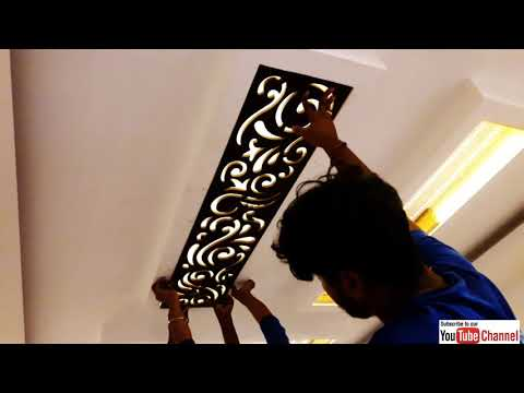 MDF Jali fitting in ceiling |  Ceiling में MDF जाली आसानी से लगाये |