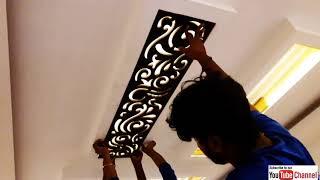 MDF Jali Fitting In Ceiling    Ceiling में MDF जाली आसानी से लगाये  
