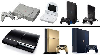 All PlayStation Console Generations Unboxing (1994-2019) PS1, PS2, PS3, PS4