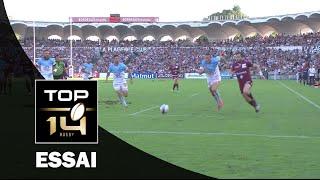 TOP 14 ‐ Essai Adam ASHLEY-COOPER (UBB) – Bordeaux-Bègles-Bayonne – J4 – Saison 2016/2017