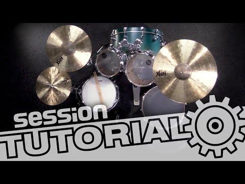 Schlagzeug richtig aufbauen (inkl Tipps zur Körperhaltung beim Spielen) | session Tutorial