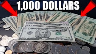 MONEY FOUND IN ABANDONED HOUSE! CACHE OF $1000 DOLLARS FOUND EXPLORING ABANDONED HOUSE!