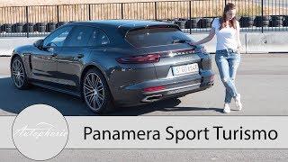 Porsche Panamera 4 E-Hybrid Sport Turismo Test / Review (ENGLISH Subtitles) - Autophorie | Kholo.pk