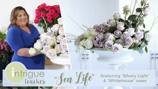 Sea Life Floral Design Tutorial - Intrigue Designs X Jet Fresh Flowers