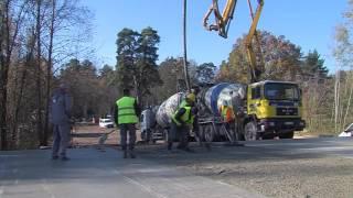 Labiekartošana-D строит на Коммунальном кладбище площадку для сбора мусора