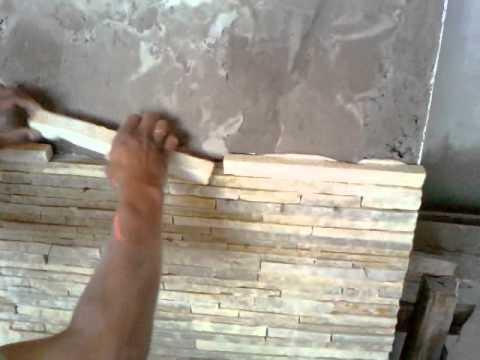 Colocação de Pedra Palito