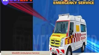 Get Utilize Medilift Ground Ambulance in Darbhanga and Muzaffarpur