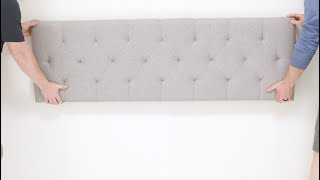 How to Wall Mount Your Lucid Headboard