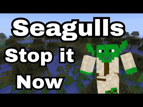 SEAGULLS (Stop It Now) Bad Lip Reading Minecraft Remake! - Mason Is Mediocre