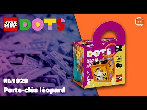 Vidéo LEGO Dots 41929 : Porte-clés léopard