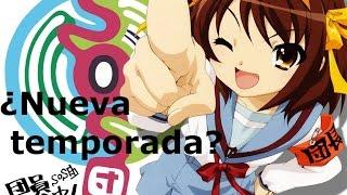 ¿Nueva temporada de Suzumiya Haruhi no Yūutsu?
