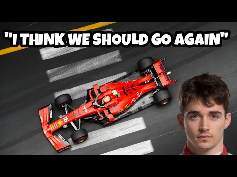 Image: WATCH: Leclerc's Q1 team radio - Ferrari thought they were safe?