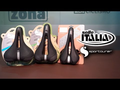 Sillines urbanos y de trekking SELLE ITALIA - SPORTOURER