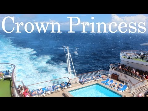 Crown Princess Ship Mediterranean Cruise