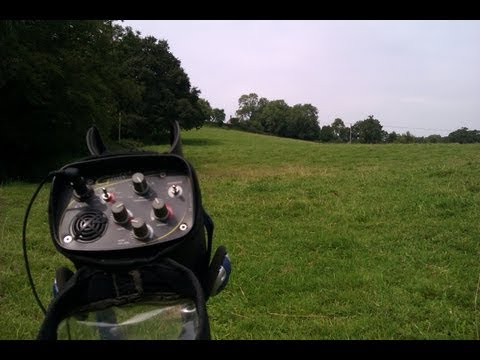 goldmaxx power settings & sounds, detecting hunt on pasture.