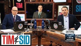 Blues Will Have To Pound Bruins Into Ice To Win Stanley Cup | Tim and Sid