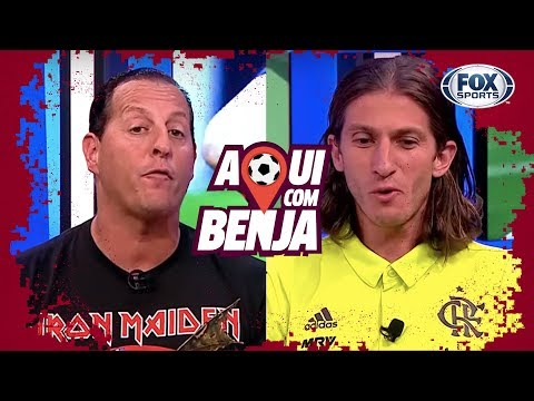 Filipe Luís - Aqui com Benja! - Programa Completo