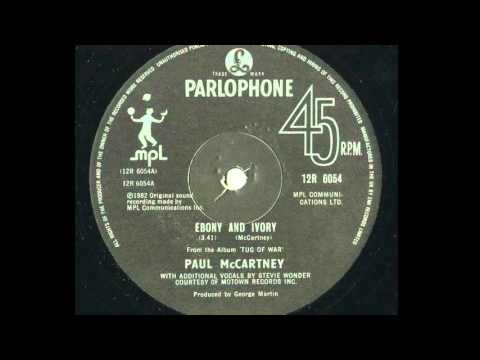 Paul McCartney 'Ebony and Ivory (Remix 2015)' feat Stevie Wonder