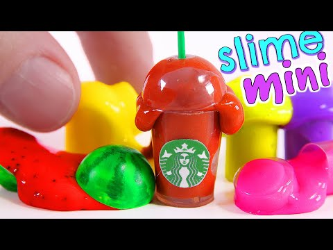 4 DIY Miniature Slimes
