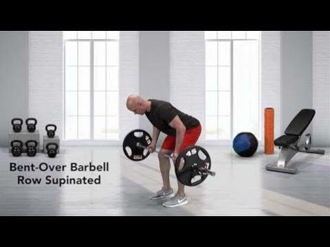 Barbell Underhand Bent-over Row