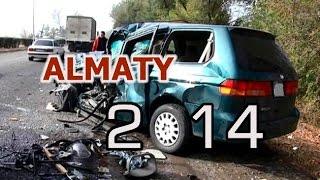 Алматинские ДТП 2014 | Almaty car crashes 2014