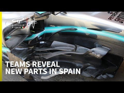 First look at F1 teams' updates for the Spanish GP