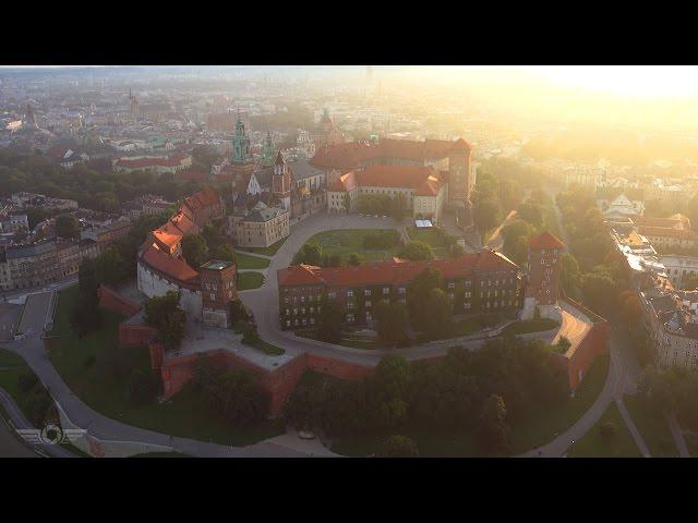Cracovie  à vol d'oiseau