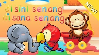 Lagu Anak Indonesia | Di Sini Senang Di Sana Senang