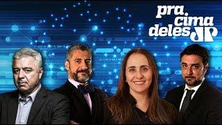#PraCimaDeles com Major Olimpio (PSL-SP), deputada Adriana Ventura (Novo-SP) e Bruno Garchagen