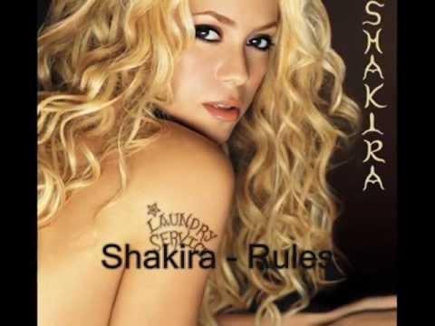 Rules - Shakira (Lyrics)