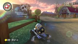 Wii Moo Moo Meadows - 1:20.845 - SuperFX (Mario Kart 8 World Record)