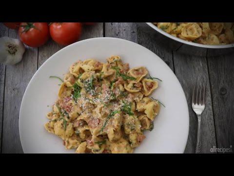 How to Make Spinach Tomato Tortellini   Pasta recipes   Allrecipes.com